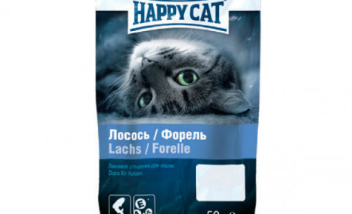 Happy Cat Лосось и форель